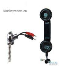 Public phone handset
