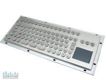 Ipari billentyűzet touchpad-dal
